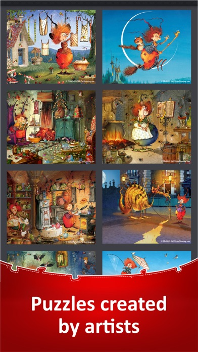 Jigsaw Puzzle Collection HD screenshot 6