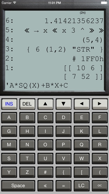 Halcyon Calc screenshot-2