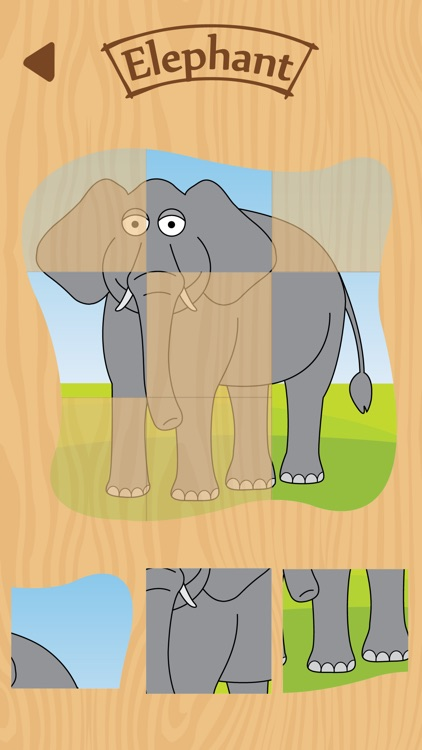 Toddler Puzzle Zoo Animals screenshot-0