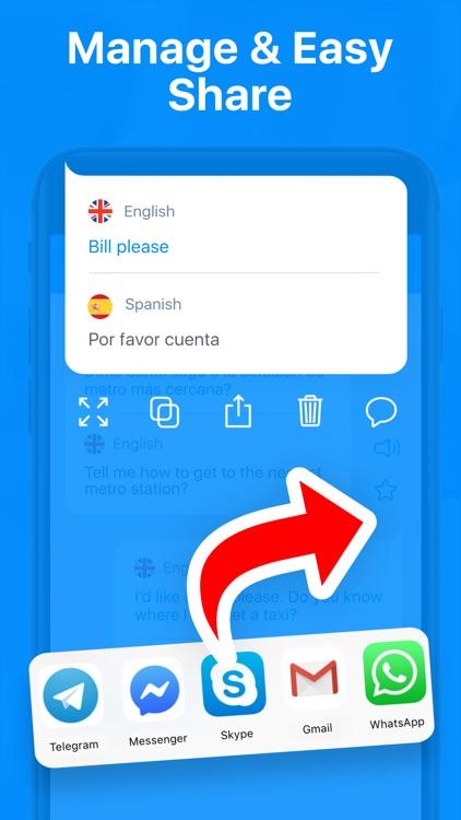Speak On: Voice Translator App screenshot-6
