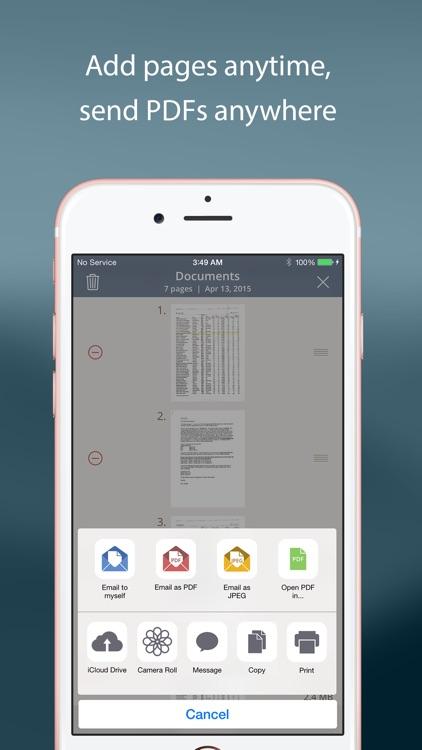 TurboScan™ Pro: PDF scanner screenshot-3
