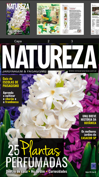 点击获取Revista Natureza Brasil