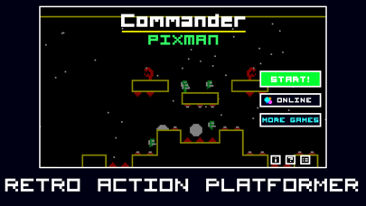 Screenshot from Commander Pixman
