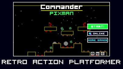 Screenshot from Commander Pixman