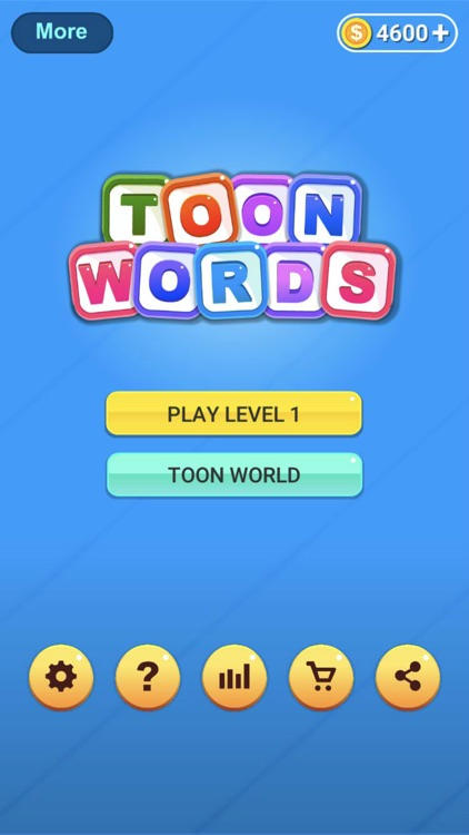 Toon Words Puzzle Uncrossed screenshot-6