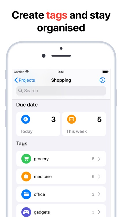Tasks: Smart Lists & Reminders
