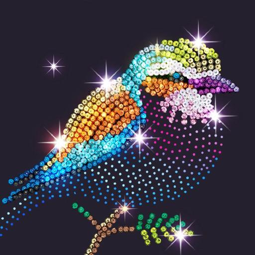 Diamond Coloring Art Game