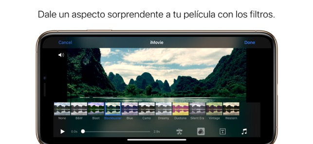 ‎iMovie Screenshot