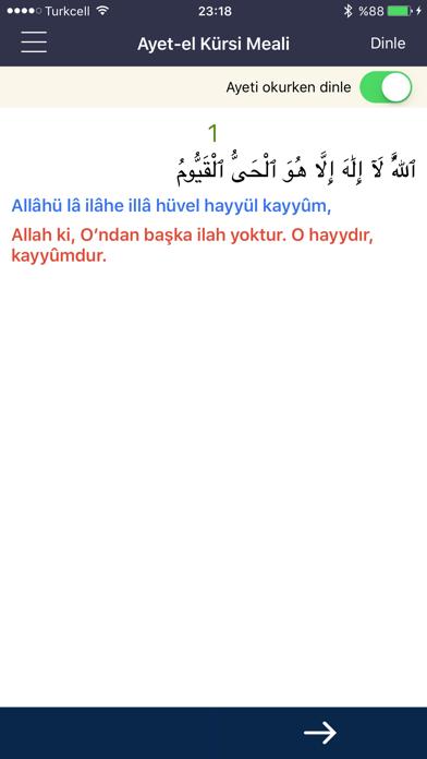 Ayetel Kürsi Duası screenshot two