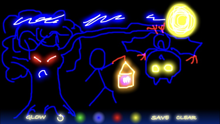 Glow Doodle screenshot-4