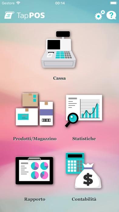 Screenshot of Tap POS vendite di inventario1