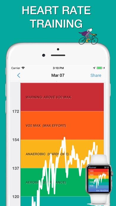 iBiker Cycling & Heart Trainer screenshot two