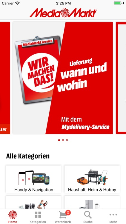 Media Markt Schweiz screenshot-0