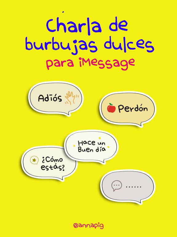 Charla de burbujas dulces screenshot 4