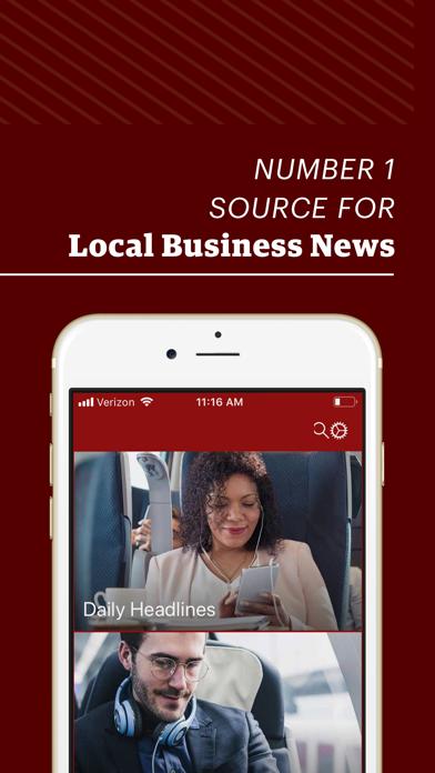 Dallas Business Journal review screenshots