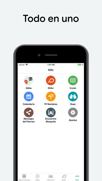 Screenshot for Muslim: Oración, Qibla, Quran in Venezuela App Store