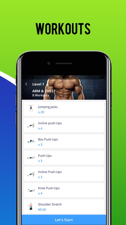 Men Fitness Workout