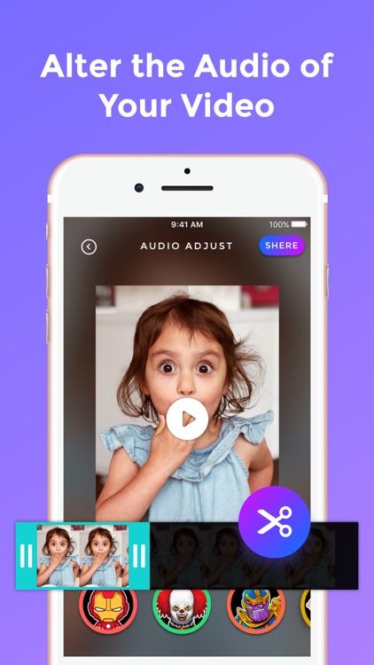 Vovo - Celebrity Voice Changer screenshot-5
