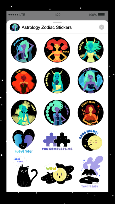 Horoscope & Astrology Stickers screenshot 2