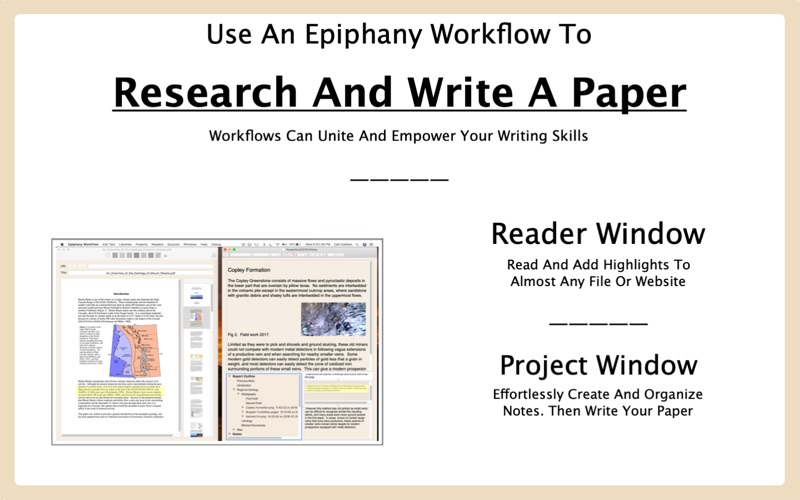 Epiphany WorkFlow for Mac
