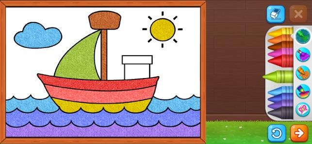 Coloring Games: Painting, Glow Screenshot