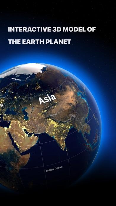 Globe 3D - Planet Earth Screenshot
