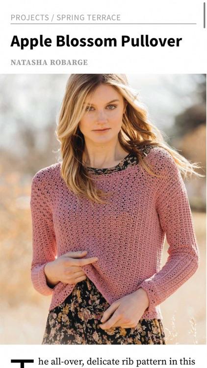 Interweave Crochet Magazine screenshot-6