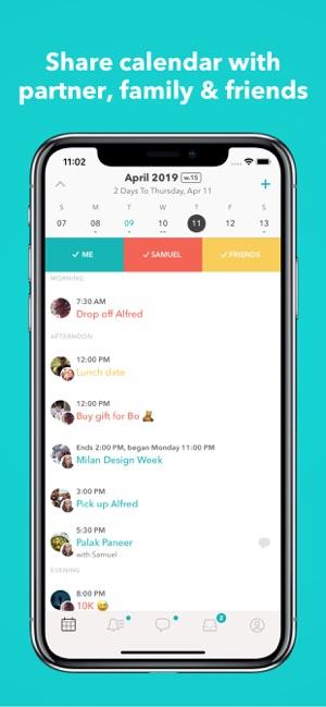 Raft: Couple & family calendar on the App Store