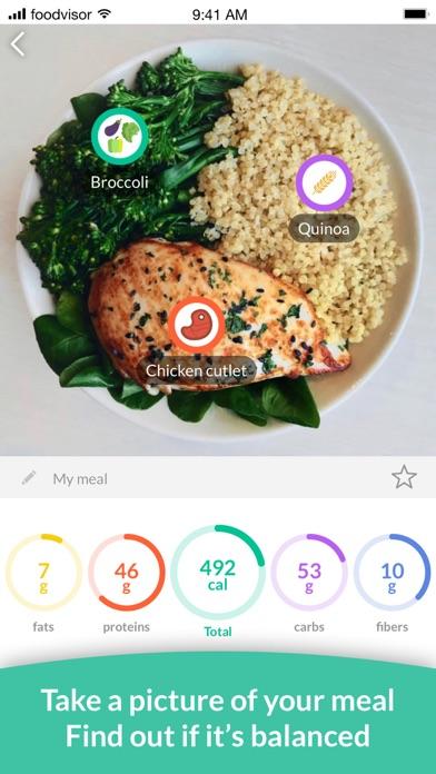 Foodvisor - Calorie Counterのおすすめ画像2