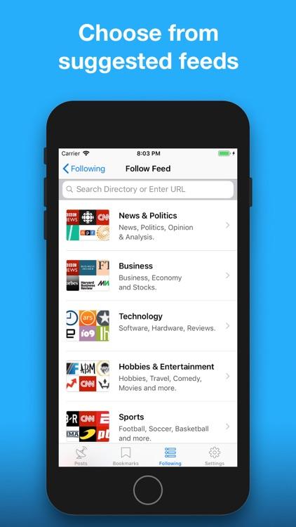 NewsWave - News Reader+ screenshot-3