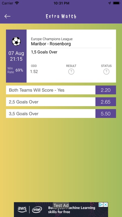 Betting Tips Predictor screenshot-7