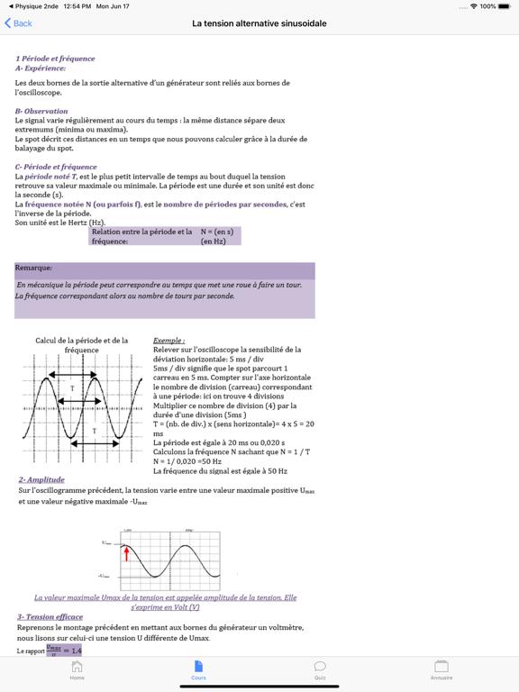 Physique 3ème screenshot 9