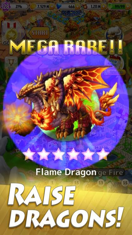 Dragon x Dragon: City Sim Game screenshot-0