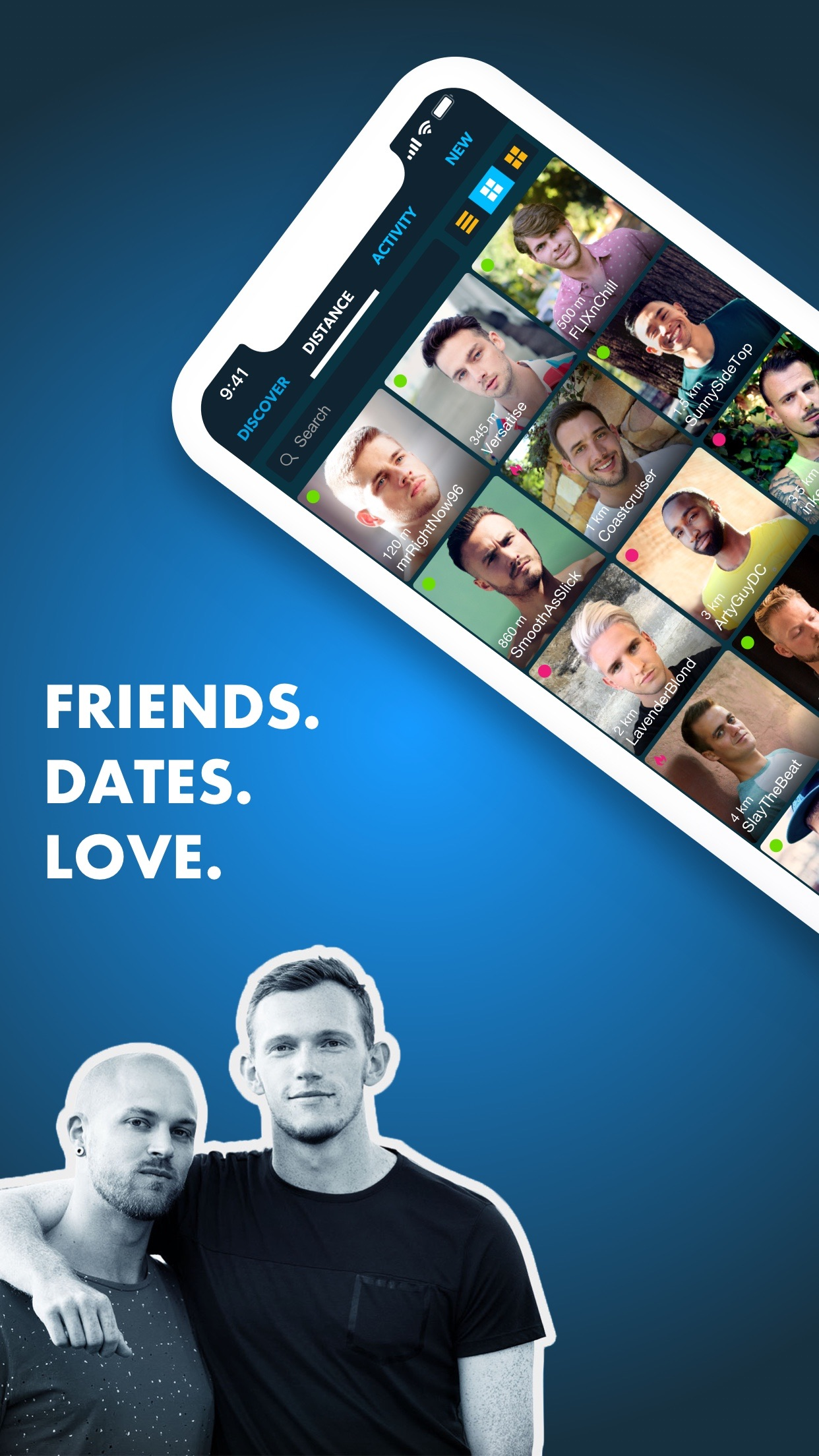 ROMEO - Gay Dating & Chat Screenshot