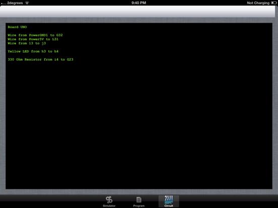 Simduino screenshot