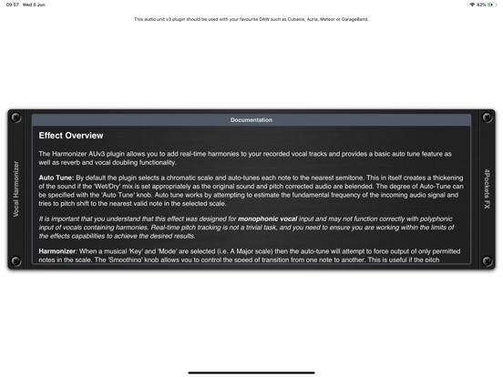 Vocal Harmonizer AUv3 Plugin screenshot 10