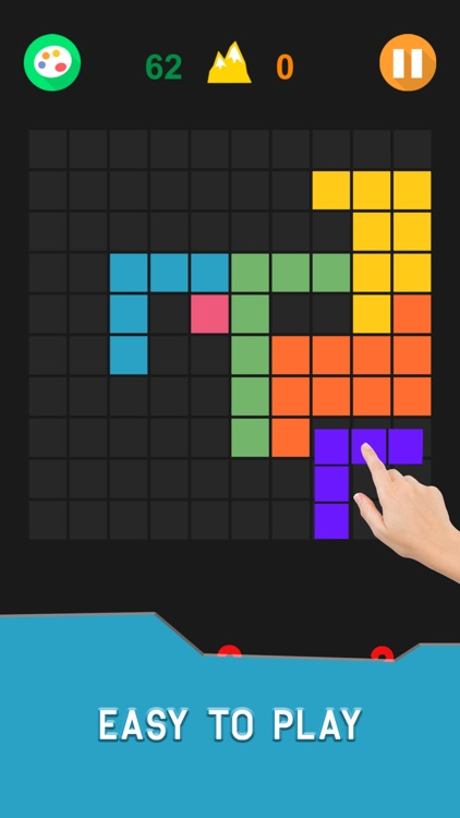 Hex & Square Block Puzzle Game