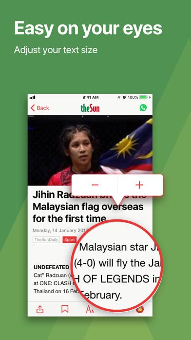 Newswav - Latest Malaysia News screenshot three