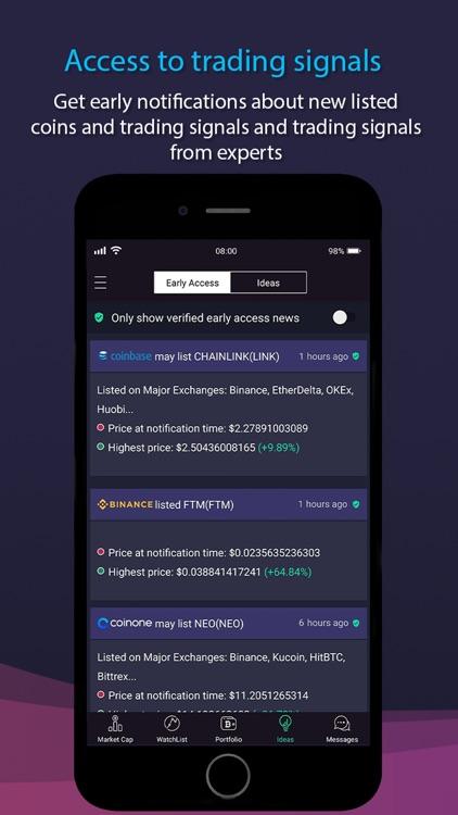 CoinMarket: BTC & Altcoins screenshot-6