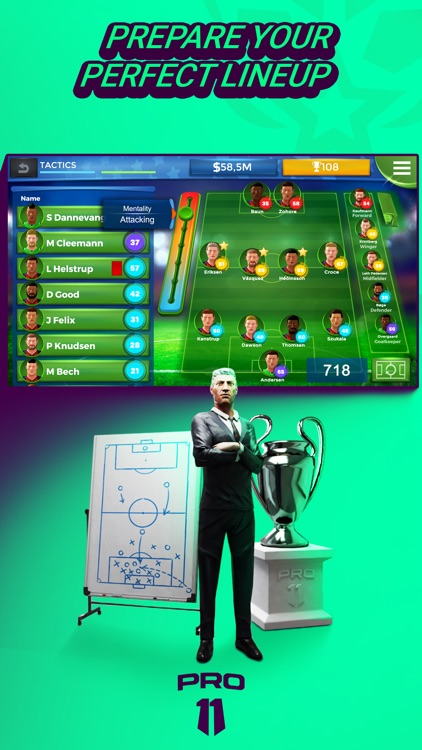 Pro 11 - Soccer Manager Game screenshot-0
