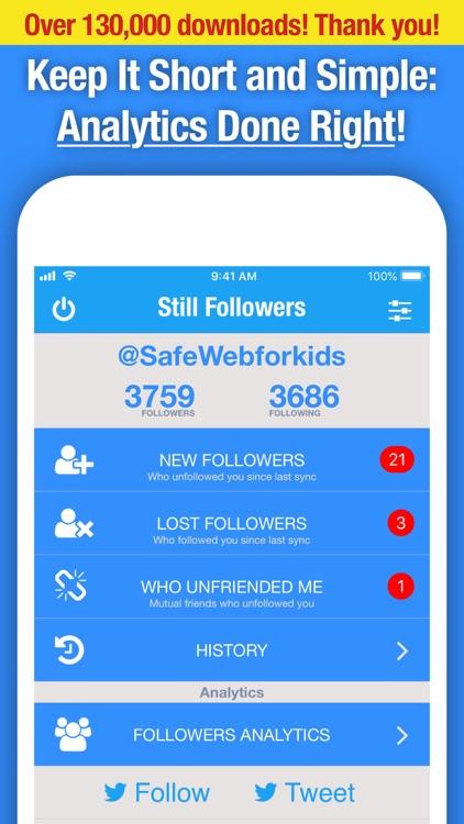 Still Followers for Twitter screenshot-0