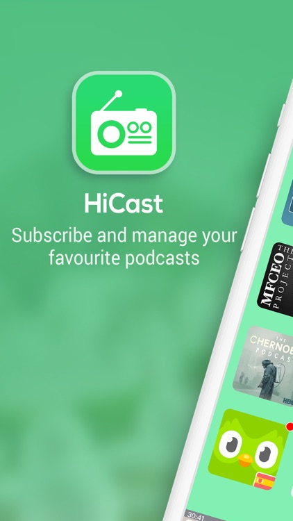 HiCast: RSS Podcast Player screenshot-0