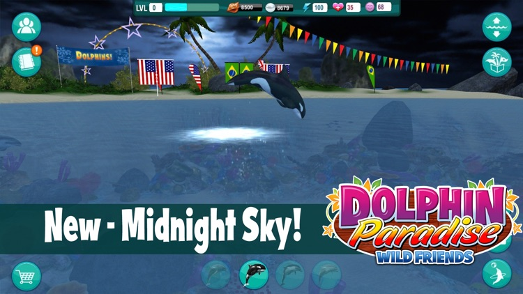 Dolphin Paradise: Wild Friends screenshot-3