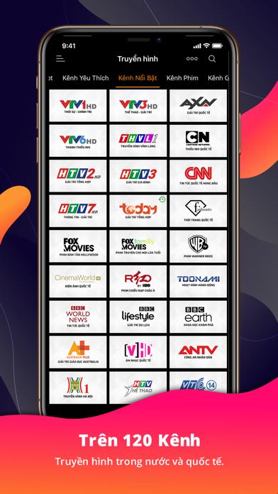 Screenshot for Clip TV – Truyền hình internet in Finland App Store