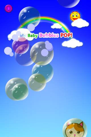 My baby game Bubbles pop! lite - náhled