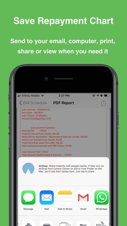 Loan Calculator ++ screenshot-4