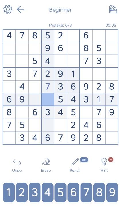 Sudoku - Soduko - Soduku screenshot-3
