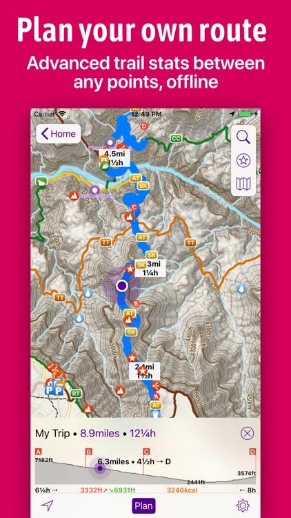 Hikepack: Clever Hiking Maps screenshot-3