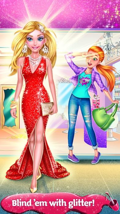Glitter Makeup Salon