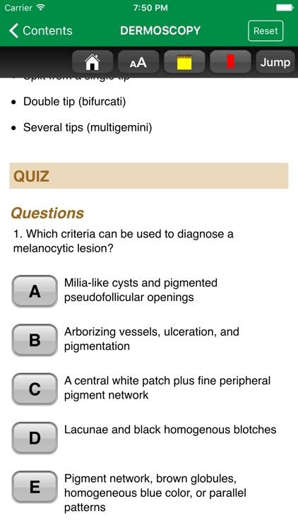 Dermatology A Pict. Review 3/E screenshot-3
